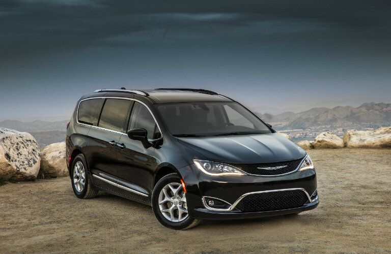 2017 Chrysler Pacifica Exterior Color Options