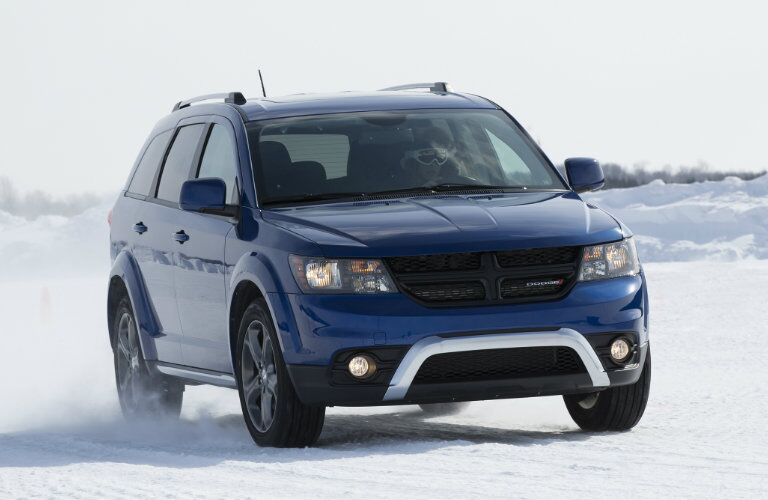 2017 Dodge Journey Grille and Headlights