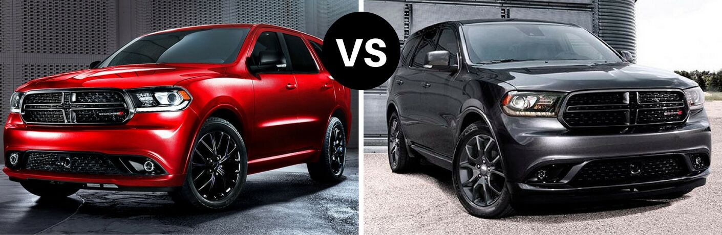 2017 Dodge Durango vs 2016 Dodge Durango