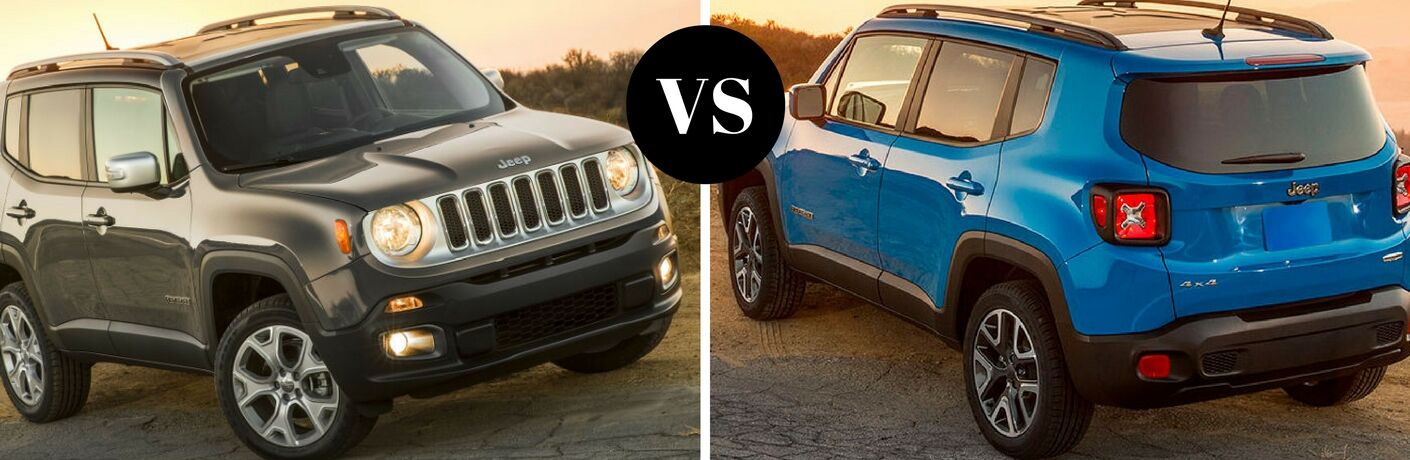 2017 Jeep Renegade vs 2016 Jeep Renegade
