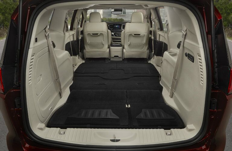 2017 Chrysler Pacifica Rear Cargo Space