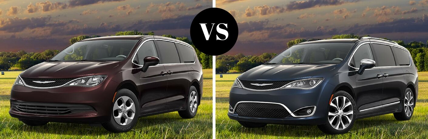 2017 Chrysler Pacifica LX vs 2017 Chrysler Pacifica Limited