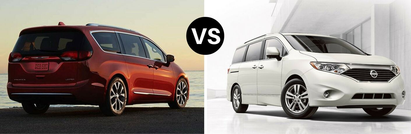 2017 Chrysler Pacifica vs 2016 Nissan Quest