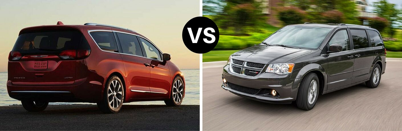 2017 Chrysler Pacifica vs 2017 Dodge Grand Caravan