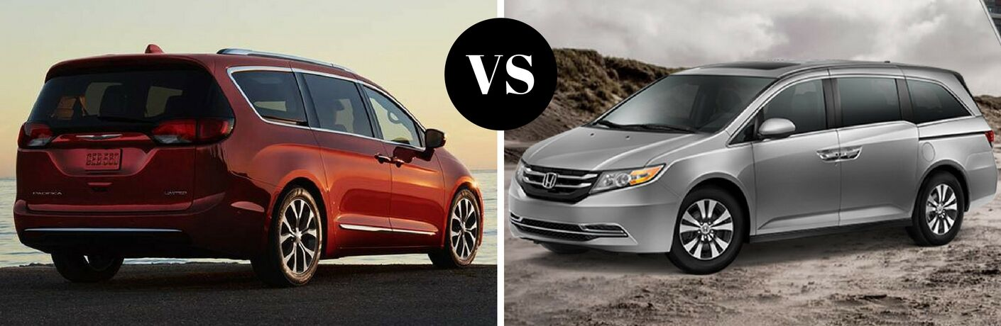 2017 Chrysler Pacifica vs 2017 Honda Odyssey