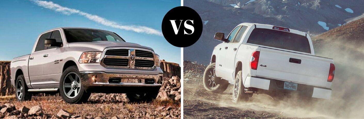 2017 Ram 1500 vs 2017 Toyota Tundra