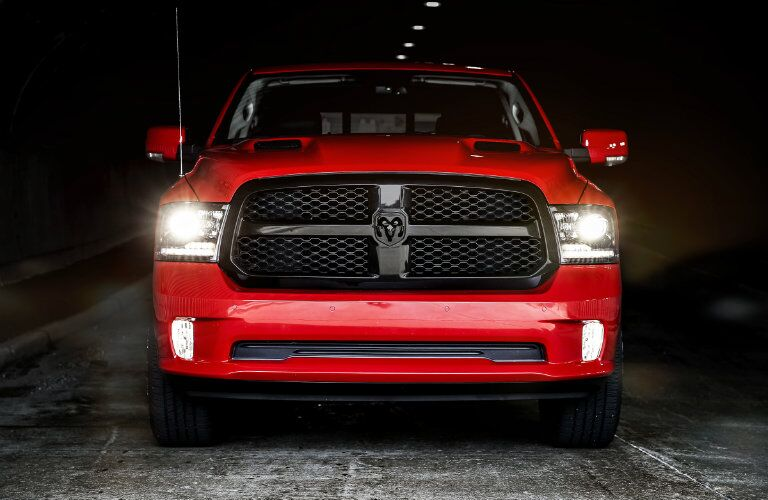 2017 Ram 1500 Blacked Out Grille