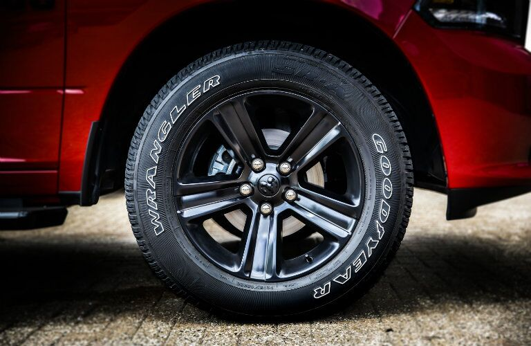 2017 Ram 1500 Wheel Size options