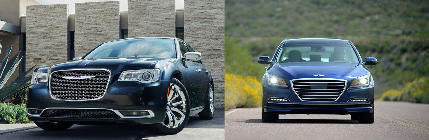 2016 Chrysler 300 vs 2016 Hyundai Genesis
