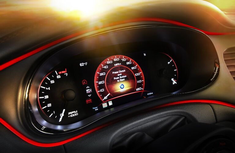 2016 Dodge Dart Dashboard