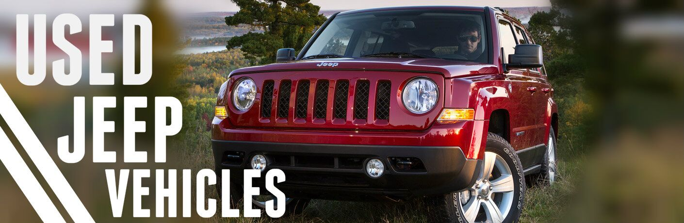 Used Jeep Vehicles Kenosha WI