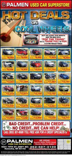 Hot Deals on Cool Wheels 7/14-7/21