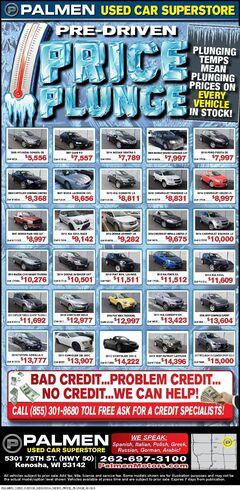 Palmen Motors Price Plunge