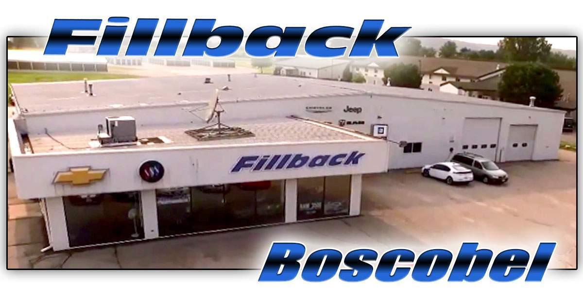 Fillback Wisconsin Chevrolet Buick Car Dealer Boscobel