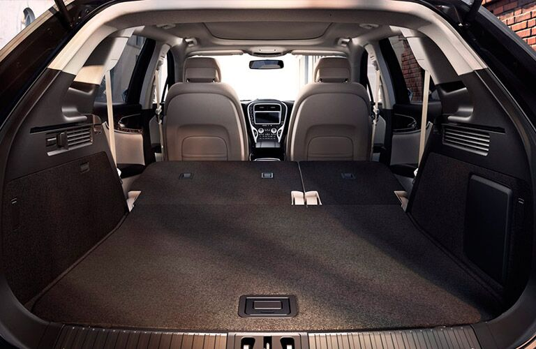 2016 Lincoln MKX cargo space passenger room