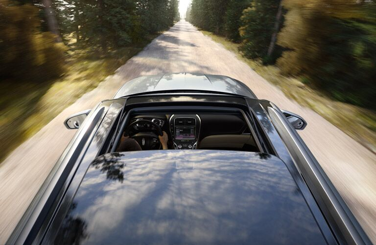 2016 Lincoln MKX sunroof