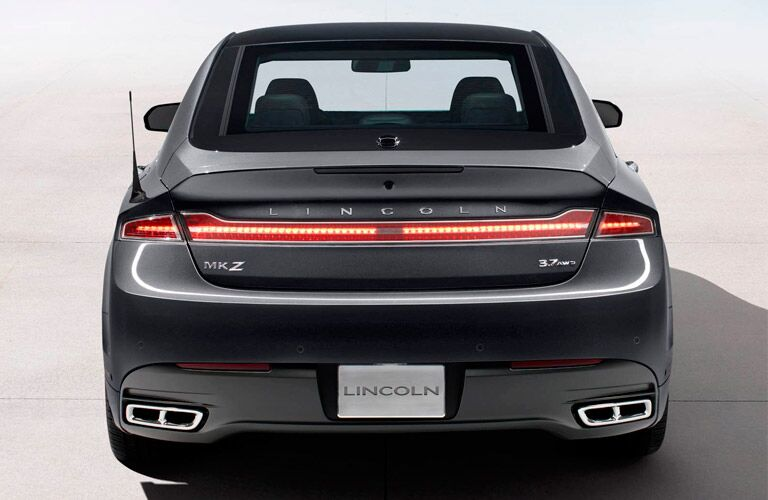 2016 Lincoln MKZ Trunk Taillights Exhaust