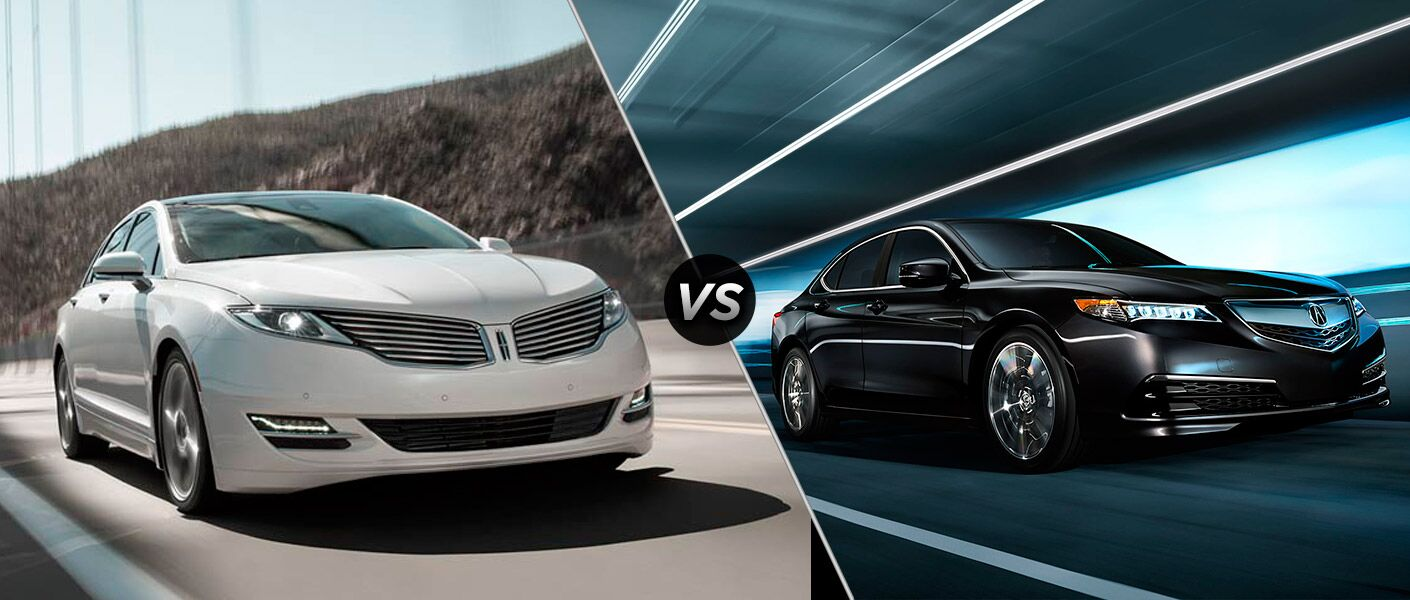 2016 Lincoln MKZ vs 2016 Acura TLX