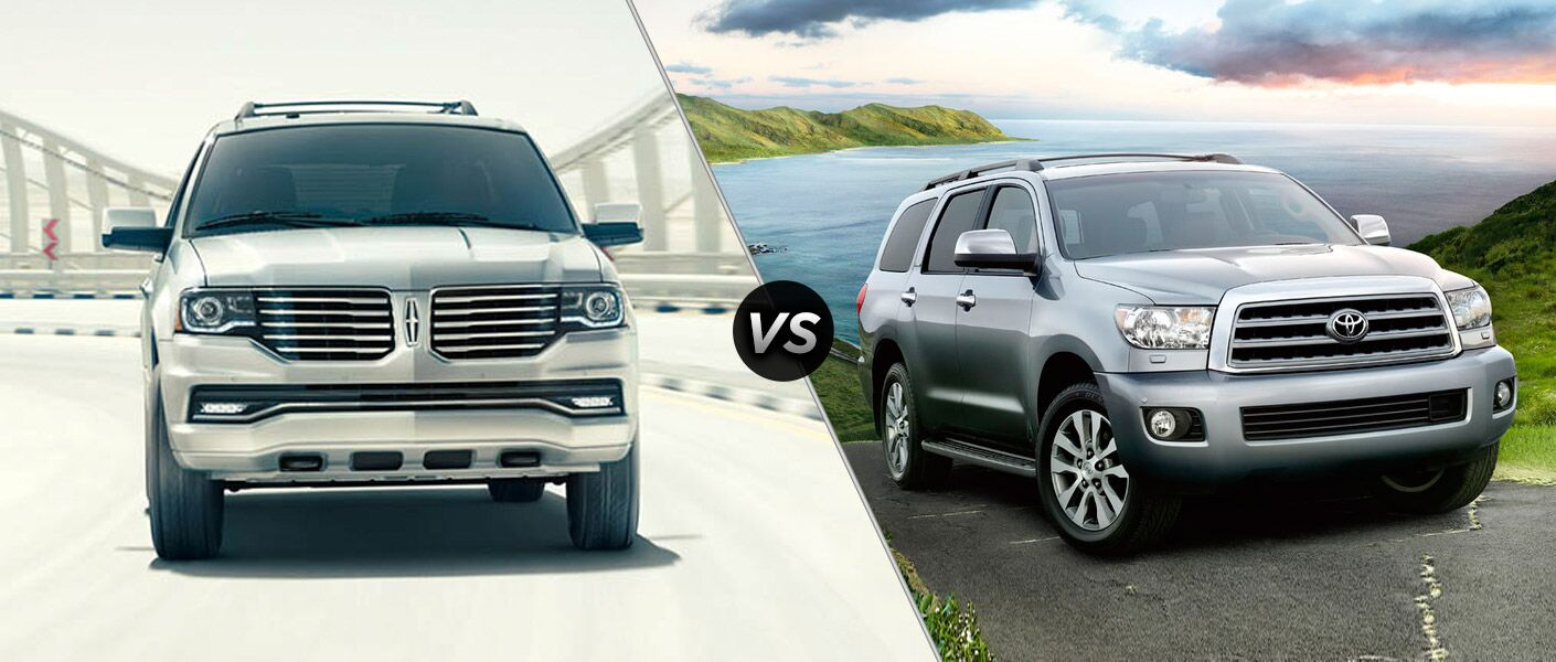 2016 Lincoln Navigator vs 2016 Toyota Sequoia
