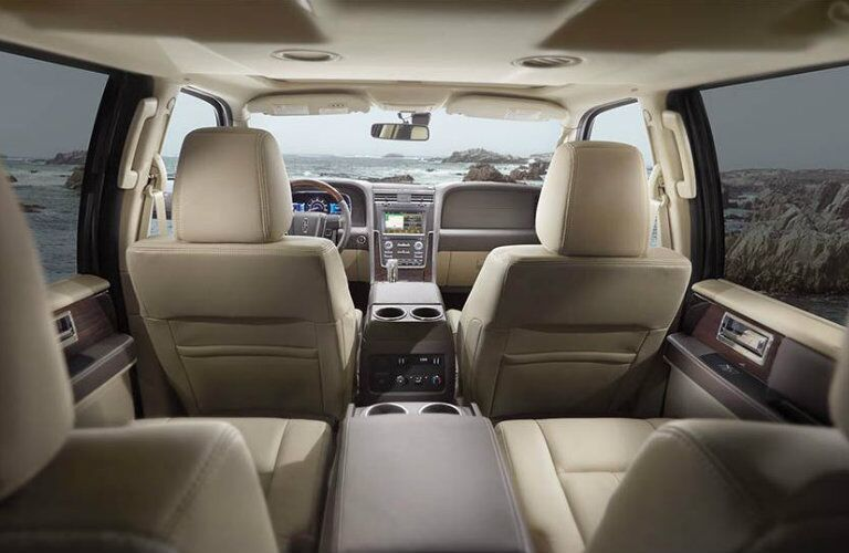 2016 Lincoln Navigator heated cooled seats running boards
