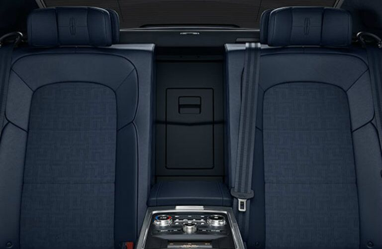 2017 Lincoln Continental Rhapsody leather interior