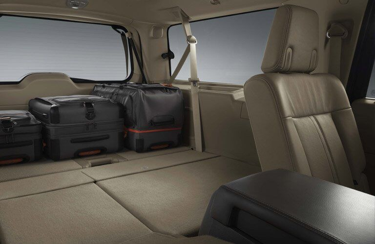 2017 Lincoln Navigator cargo space
