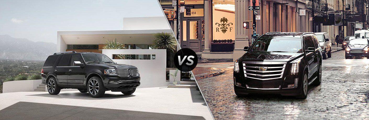 2017 Lincoln Navigator vs 2017 Cadillac Escalade