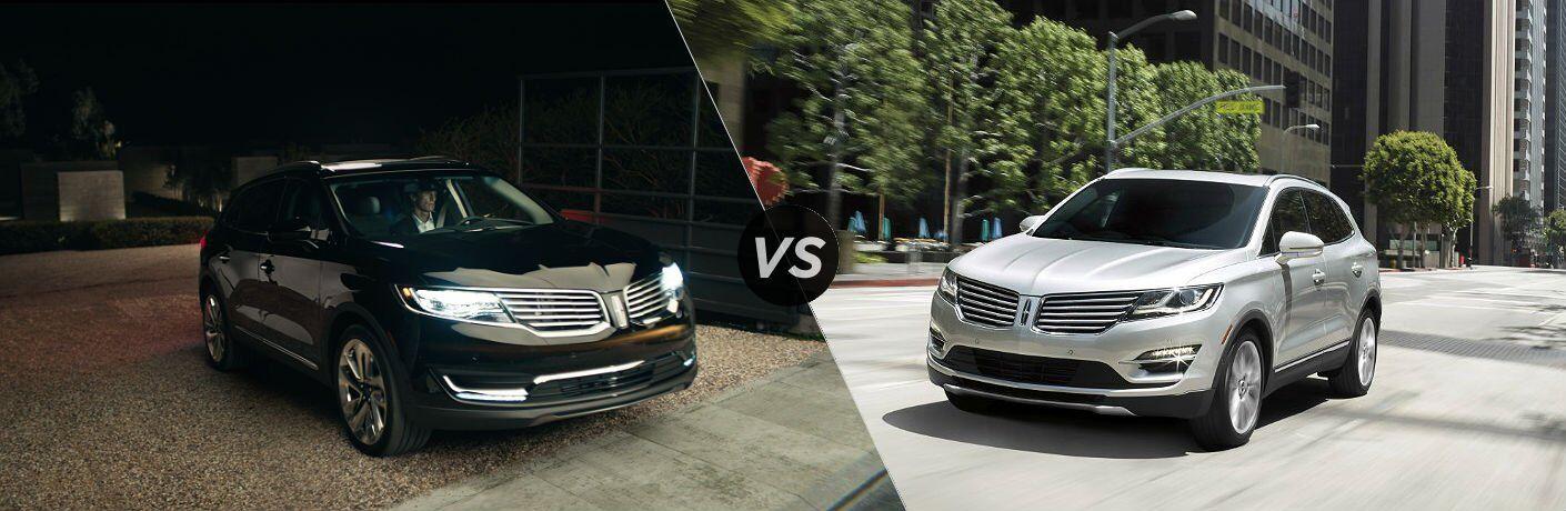 2017 Lincoln MKX vs. MKC