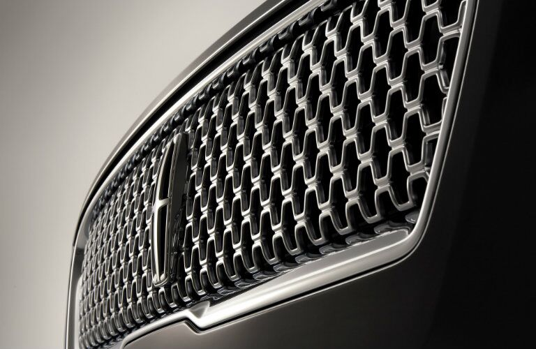 2017 Lincoln MKZ grille