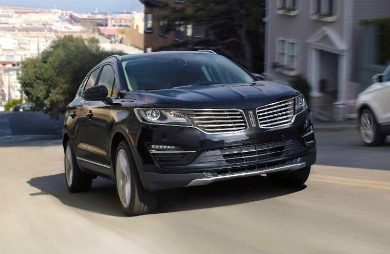 2017 Lincoln MKC exterior black