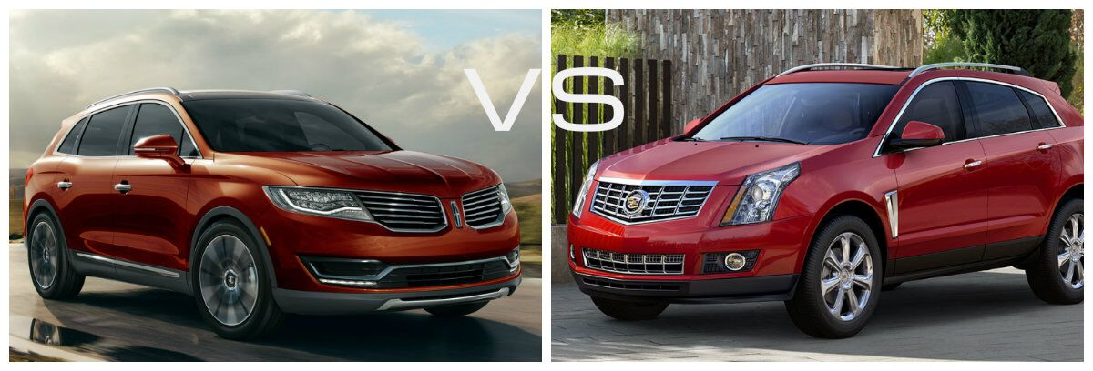 2016 Lincoln MKX vs 2016 Cadillac SRX