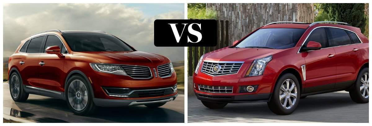 2016 Lincoln MKX vs 2016 Cadillac SRX