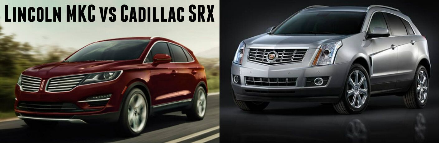 2016 Lincoln MKC vs 2016 Cadillac SRX