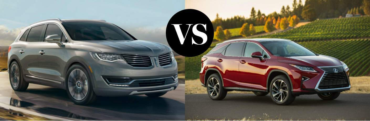 2016 Lincoln MKX vs 2016 Lexus RX