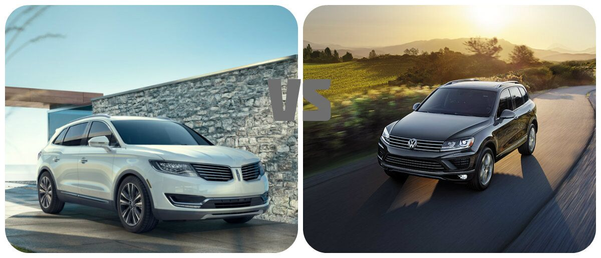 Lincoln MKX vs Volkswagen Touareg