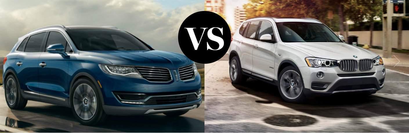 2016 Lincoln MKX vs 2016 BMW X3