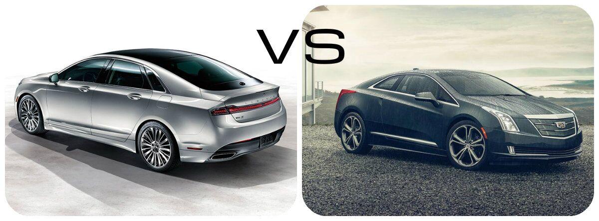 Lincoln MKZ Hybrid Black Label vs Cadillac ELR