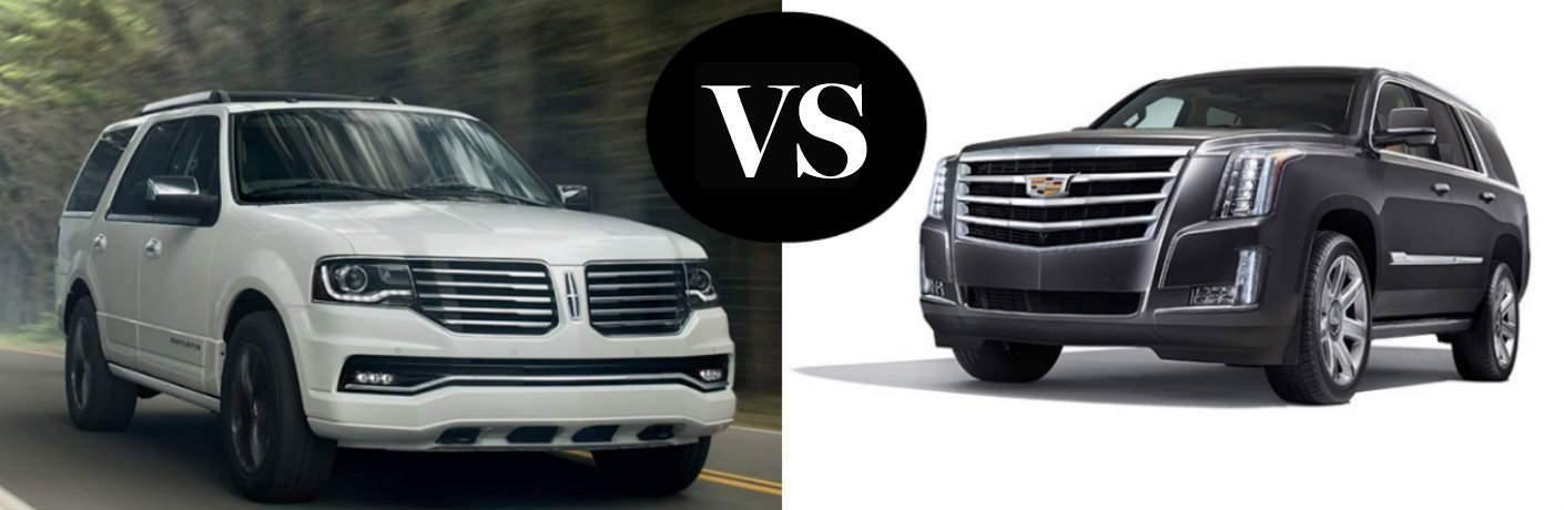 2016 Lincoln Navigator vs 2016 Cadillac Escalade