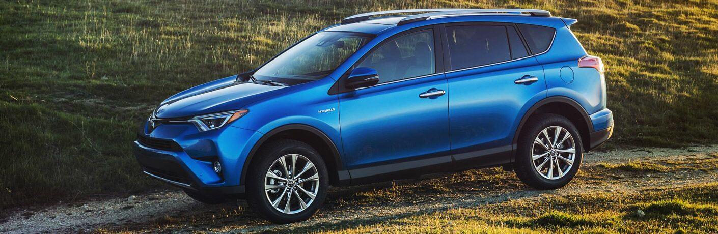 2016 toyota rav4 hybrid exterior blue