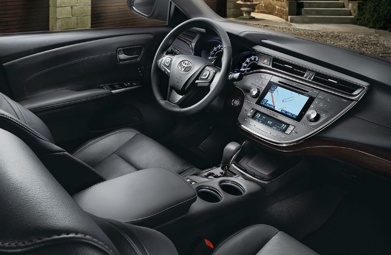 2016 toyota avalon hybrid leather seats interior dashboard