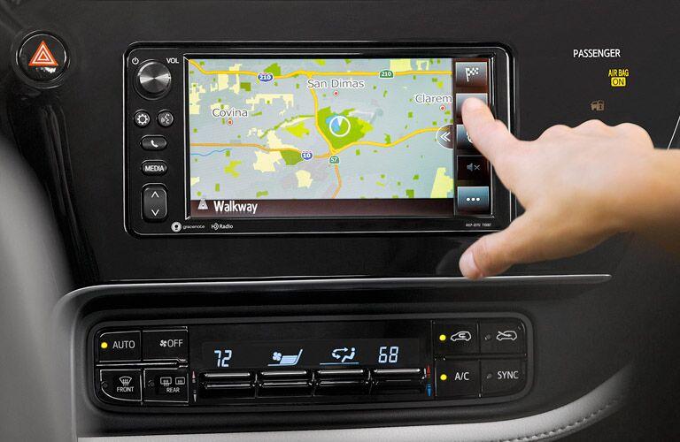 2017 toyota corolla im touchscreen navigation dashboard