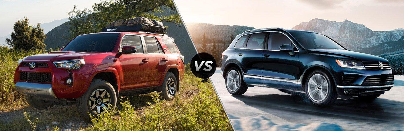 2017 Toyota 4Runner vs 2017 VW Touareg