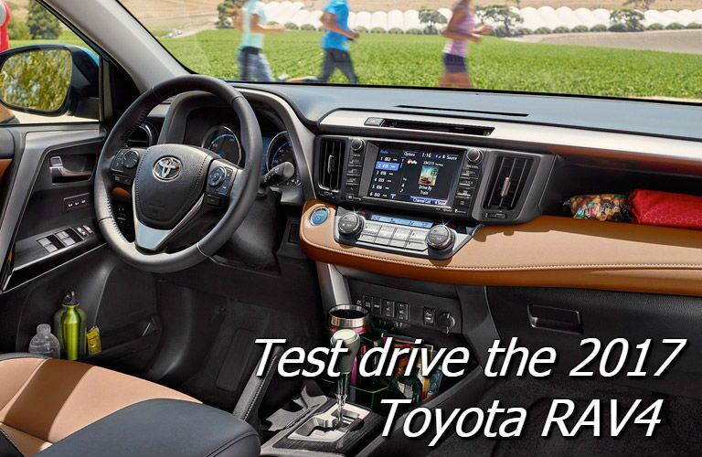 test drive the 2017 toyota rav4 in saint albans