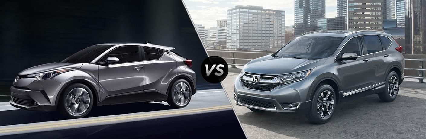 2018 Toyota C-HR vs 2017 Honda CR-V