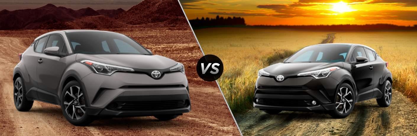 2018 Toyota C-HR XLE vs XLE Premium