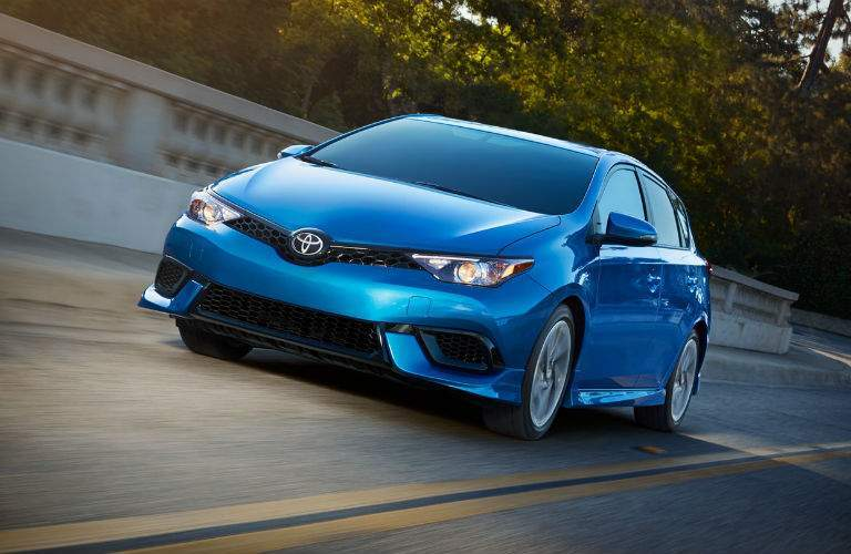 The 2018 Corolla iM offers a great blend of performance and efficiency