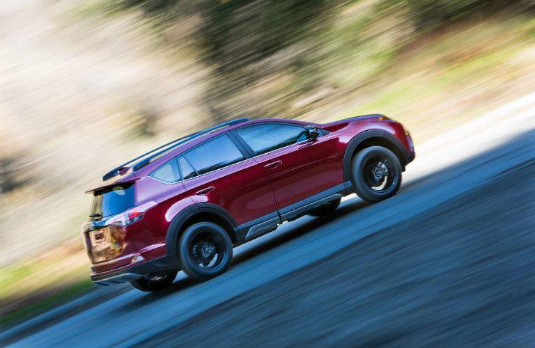 Performance is provided by the same reliable engine used in previous RAV4 models