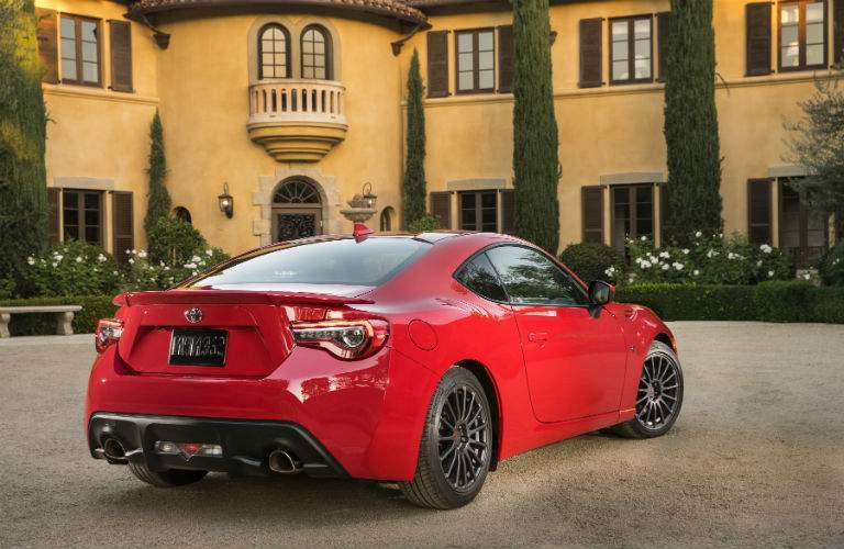The sleek lines of the Toyota 86 have a rich race car heritage