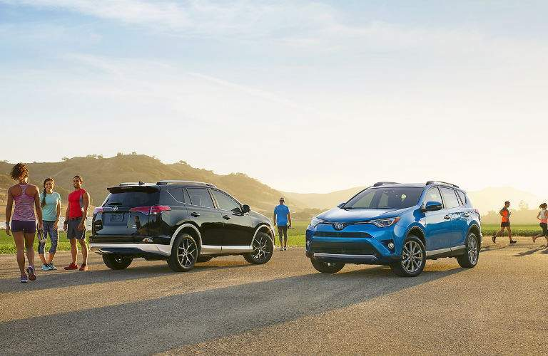 The special design of the 2018 RAV4 is unique among crossover SUVs