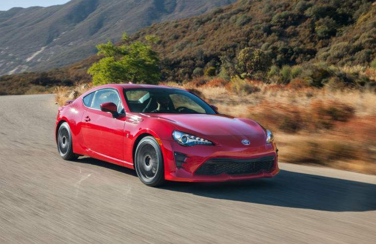 The 2018 Toyota 86 is made to carve up twisting back roads
